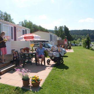 Camping Resort Frymburk - mobilní domy