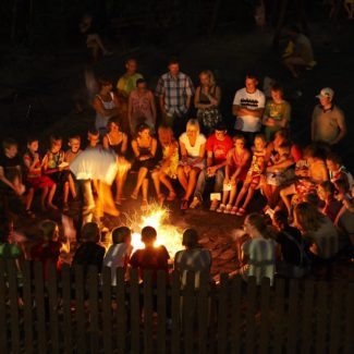 Camping Oase Praha - ohniště